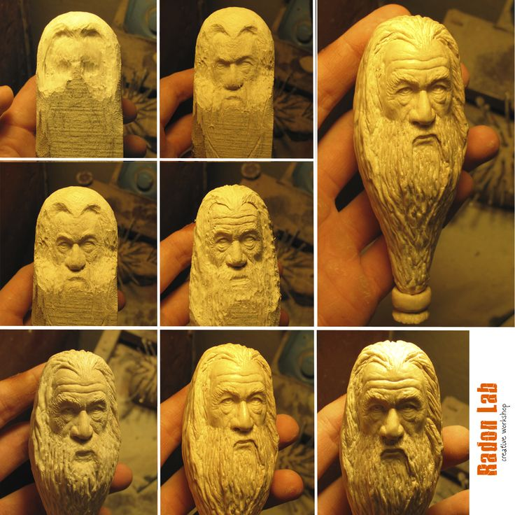 A small process or tutorial for creating a gandalf…