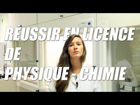 ▶ Réussir en licence de Physique / Chimie ? - Orientation Post-Bac - YouTube