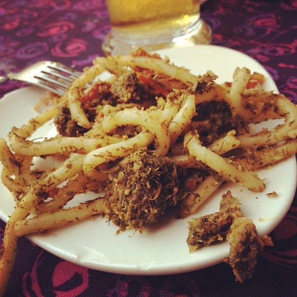 Happy Hour with Pasta con le sarde - Palermo  - Food
