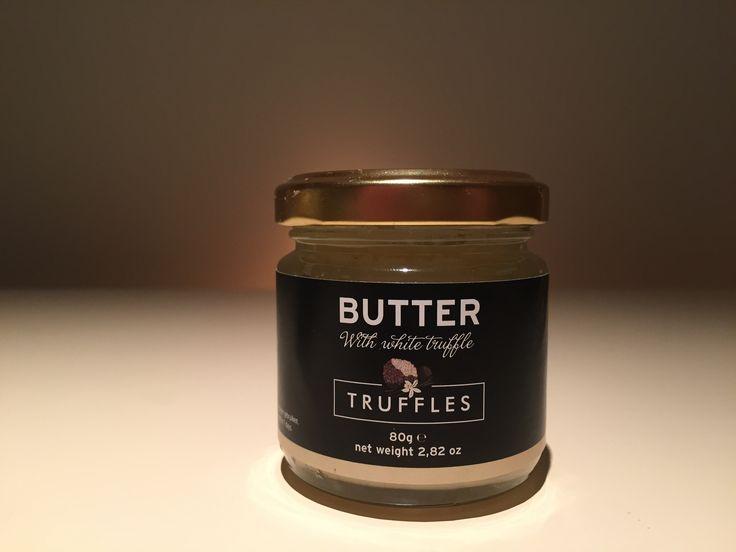 Heerlijke truffel boter, met twee procent Witte truffel