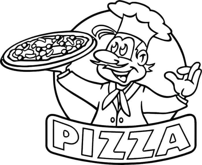 The Collection Of Delicious Pizza Coloring Pages Free Coloring Sheets Pizza Coloring Page Cartoon Coloring Pages Emoji Coloring Pages