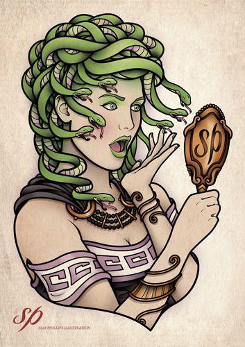 Medusa by Sam Phillips.