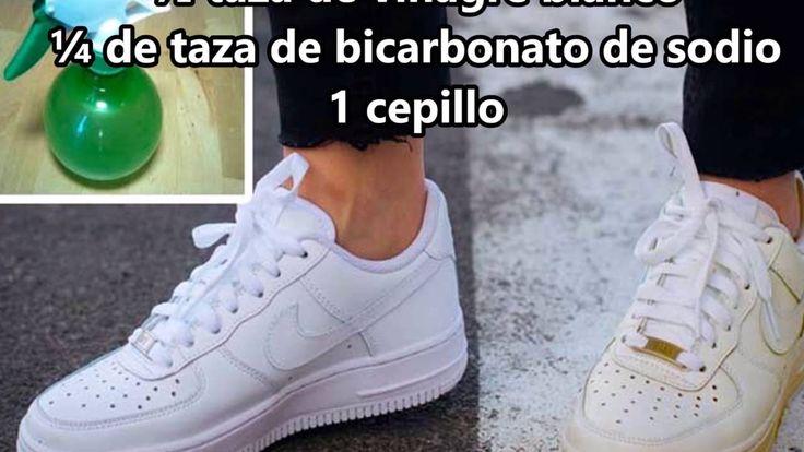 Con este truco y tendrás tus zapatillas blancas como recién compradas ot...