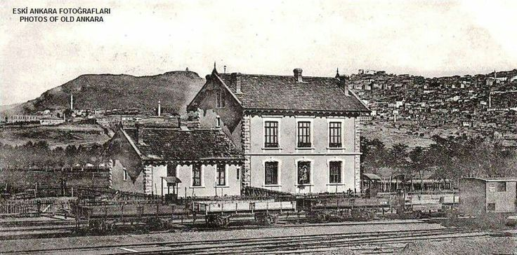 1900 lerin başı Ankara istasyonu..