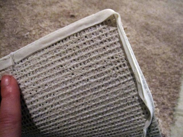 How To Edge A Piece Of Carpet To Make A Rug
