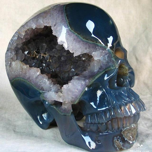 Best surreal agate skulls images on pinterest crystal