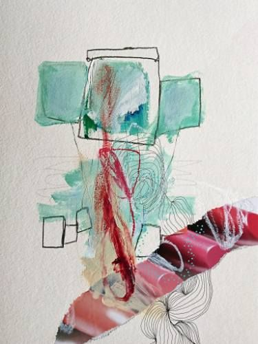 "Saatchi Art Artist Sander and Marijah; Collage, ""04.07.10.16 - IV.IX.XII.XVI"" #art"