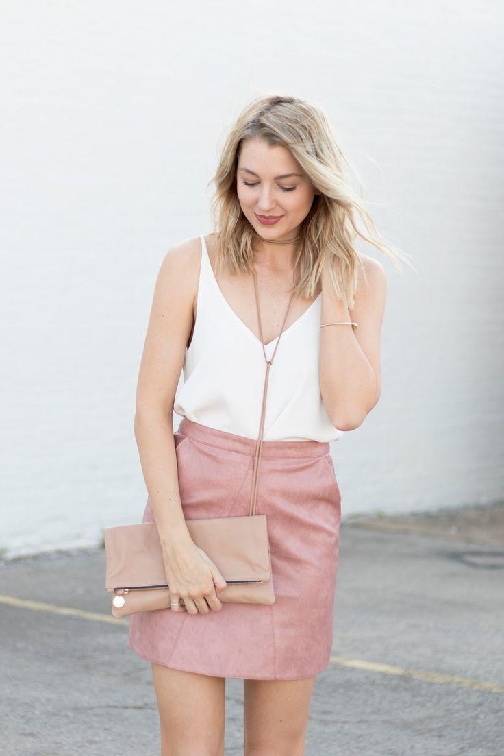 Resultado de imagen para leather skirt attire