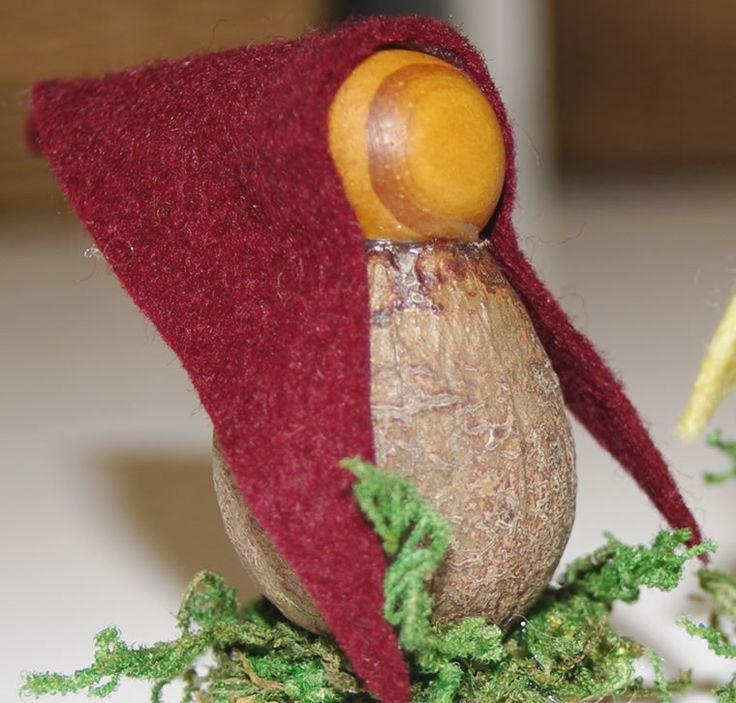 Gum Nut Fairy Gnome