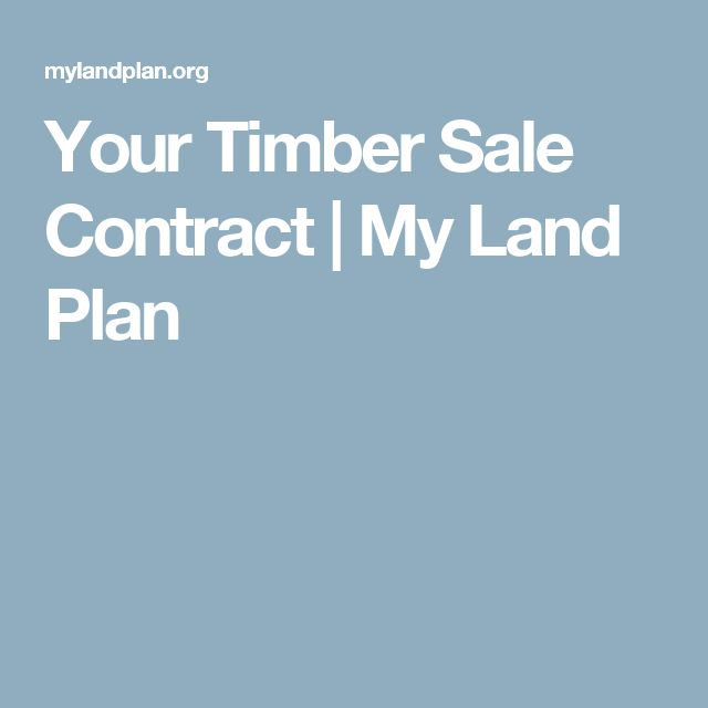 The 25+ best Timber sales ideas on Pinterest Garden in house - land sales contract