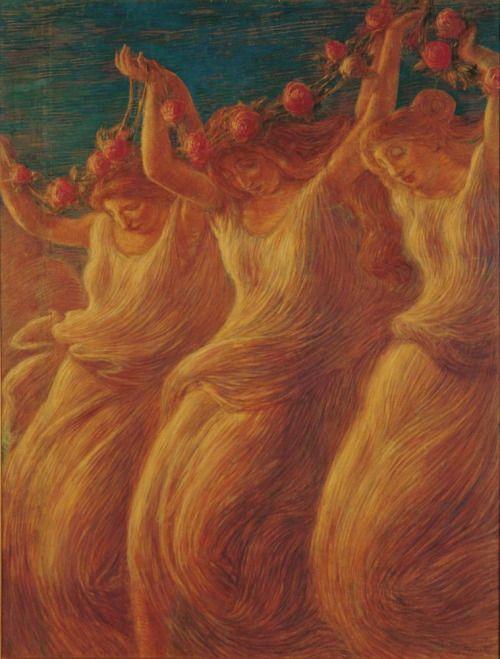 Dance - Gaetano Previati 1908