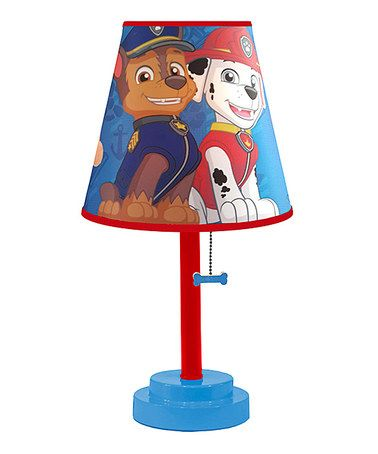 Another great find on #zulily! Nickelodeon Paw Patrol Table Lamp #zulilyfinds