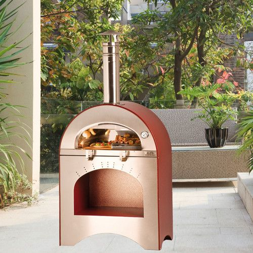 Found it at Wayfair - Forno Pizza and Brace Wood Burning Pizza Oven