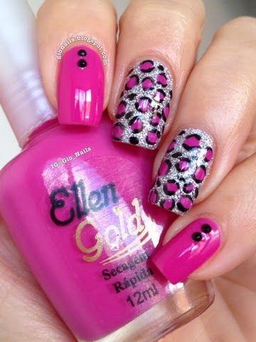 GioNails: Pink October #4: Jamille - Ellen Gold + Hard Rock - Hits