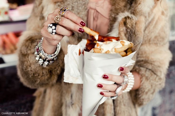 don't let dreams always be dreams: Fries Fur, Chips, Abramow Photography, Girls Generation, French Fries, Fashion Food, Fashion Photography, Accessories, Coats