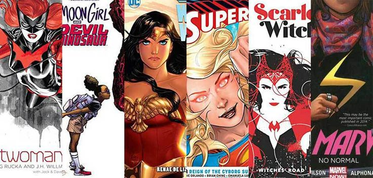 6 Female-Led Superhero Comics to Add to Your Reading List