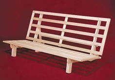 DIY WOODEN FOLDUP BED FRAME | hardwood futon frame Top 7 Futon Options for Tiny Houses and Other ...