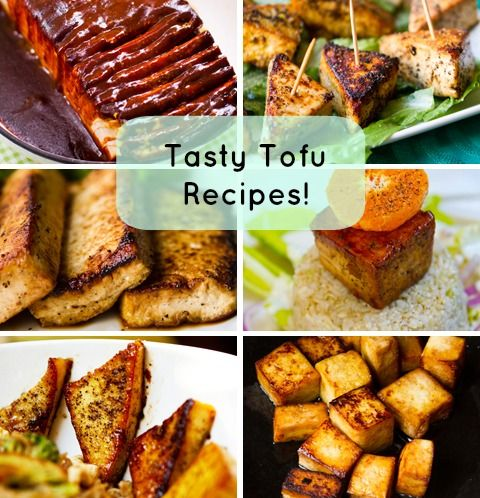 Here are 7 tasty tofu recipes that are anything but bland! Great for Vegan eaters! #healthy