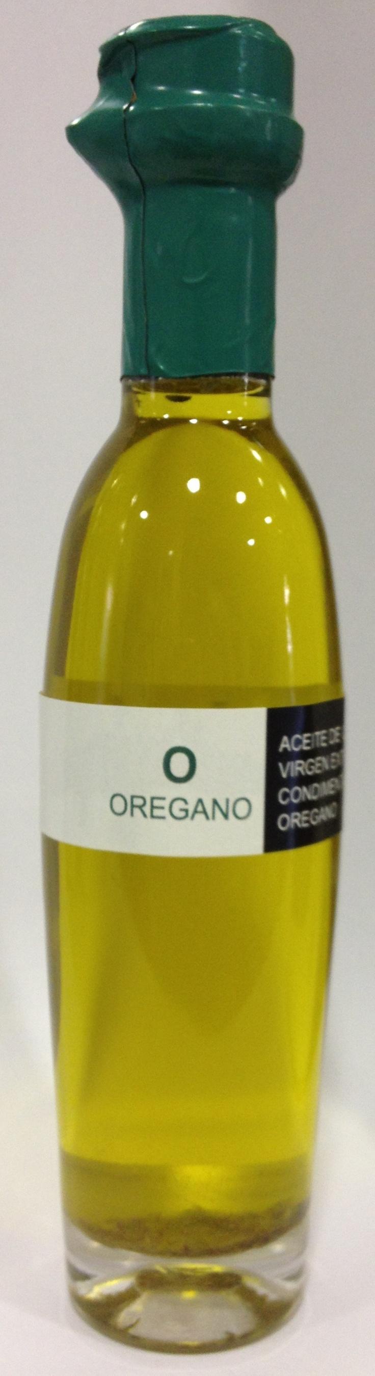 Aceite de oliva virgen extra ecostean con orégano!