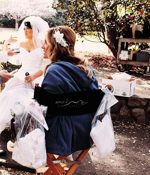 Calzona behind the scenes. Wedding!