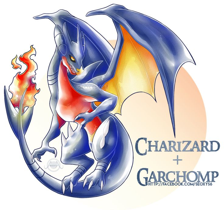 Charizard X Garchomp by Seoxys6.deviantart.com on @DeviantArt
