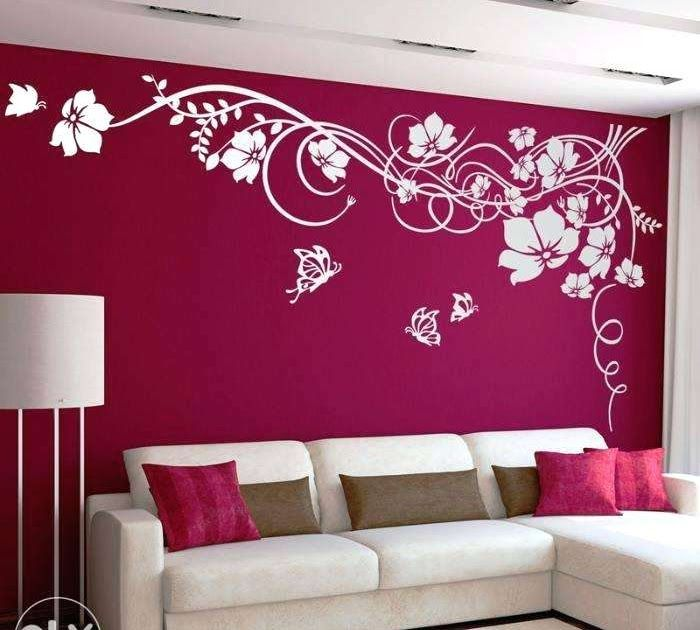 Living Room 3d Wall Painting Designs For Hall Room Paint Designs