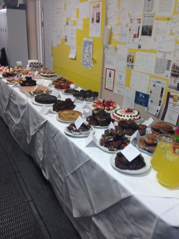 We are enjoying a staff Grand Charity Bake Off today, many talented bakers here at Team Grand!