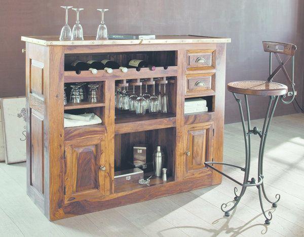 Mettez votre bar l heure bistrot installez le dans for Cirer ou vernir un meuble