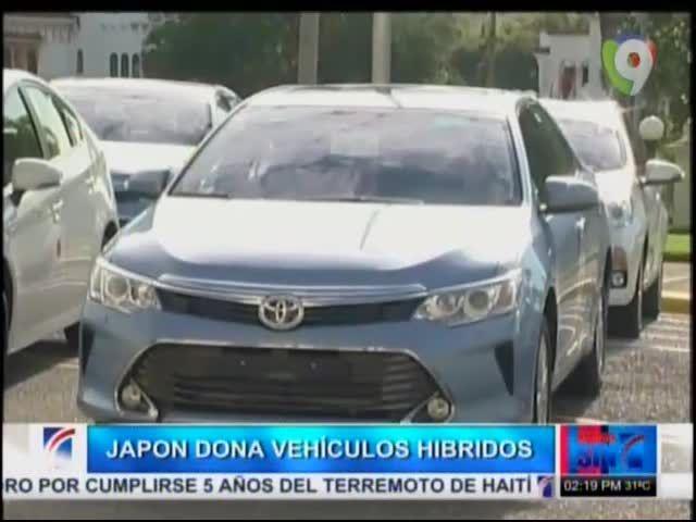 Japón Dona 129 Vehículos Híbridos A RD #Video