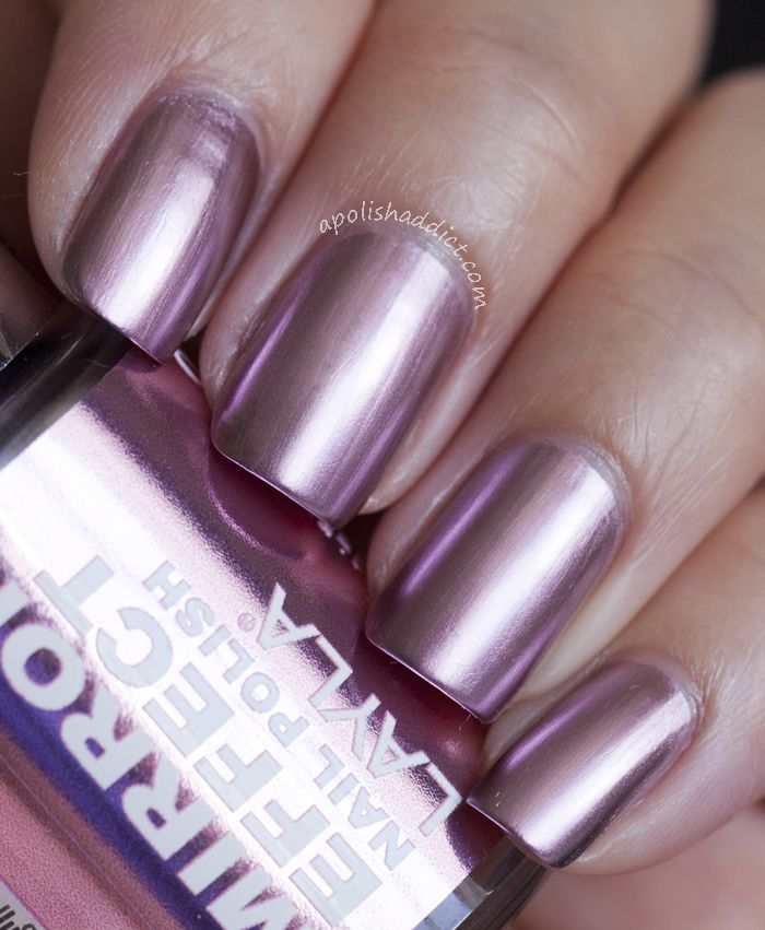 17 Best Ideas About Mirror Effect Nail Polish On Pinterest