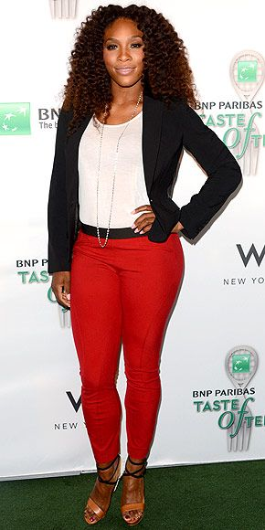 Jordan  Serena: Williams photo is a classic example of what Jordan might be if she was real.