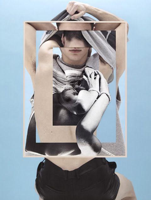 Model Arran Sly in Givenchy F/W 2013 by Damien Blottiere   Dust   Homotography