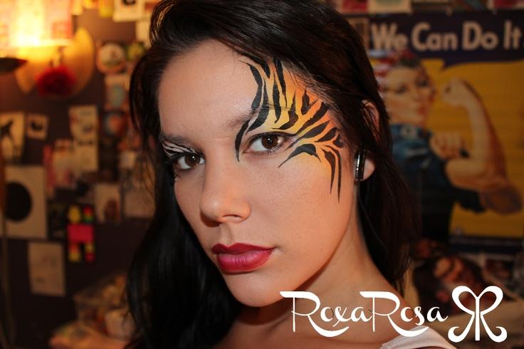 festival face paint - RoxaRosa.com