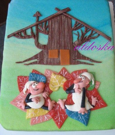 DORTY A SLADKOSTI aneb PEČEME S LÁSKOU - Fotoalbum - -MOJE PEČENÍ- - MOJE DORTY - My cakes - Křemílek a Vochomůrka pro školku v Býkovicích