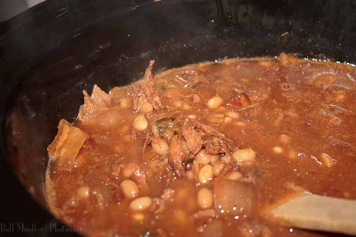 slow cooked baked beans with pork | Slow Cookin' | Pinterest