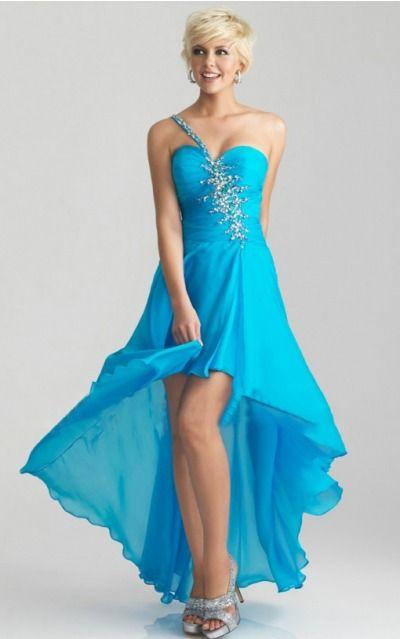 Sleeveless Zipper Chiffon Sweetheart,One Shoulder A-line Formal Dresses gjea70725