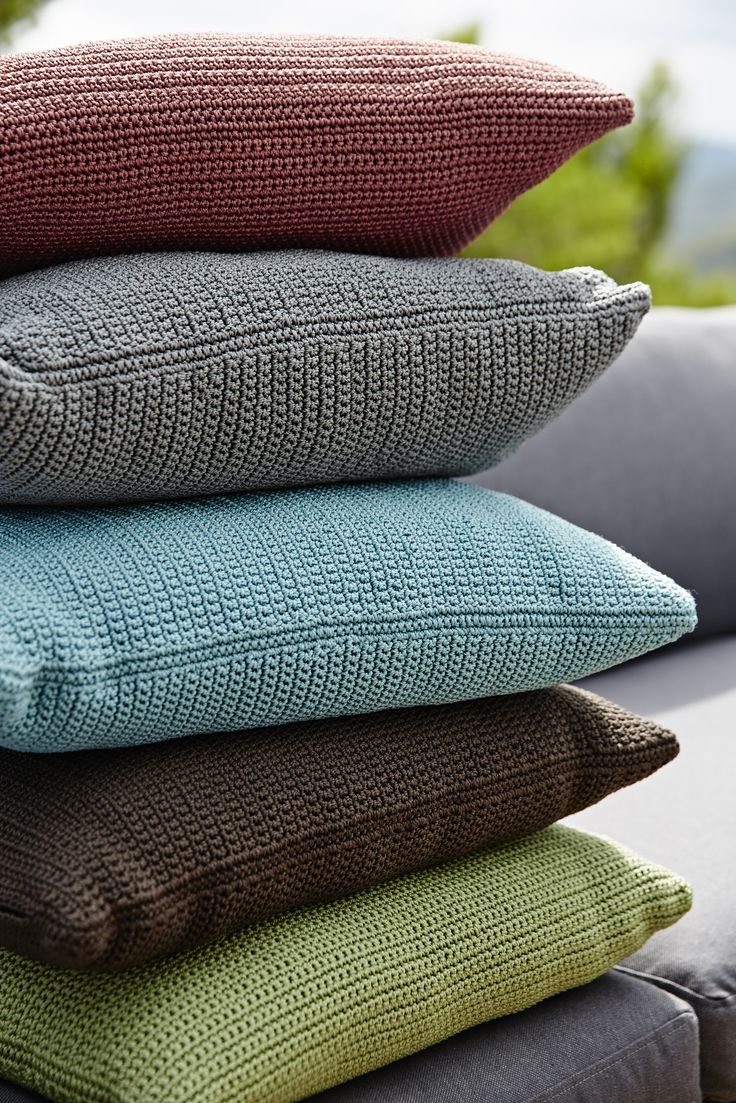 Divine cushions in various colors. Adds a splash of colour and cosiness to your living space.