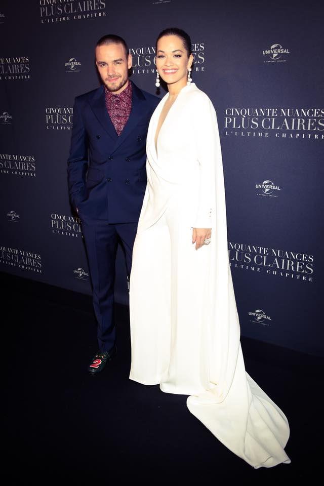 Liam Payne Rita Ora Fifty Shades Freed Premiere 50 Shades