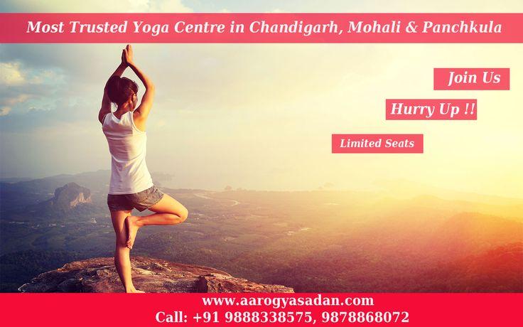 Join #Yoga Centre In #Chandigarh #Aarogyasadan