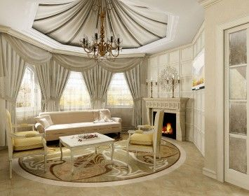Amazing Living Room Curtains Designs