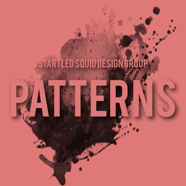 Startled Squid Pattern Album Cover for Pinterest www.startledsquid.com