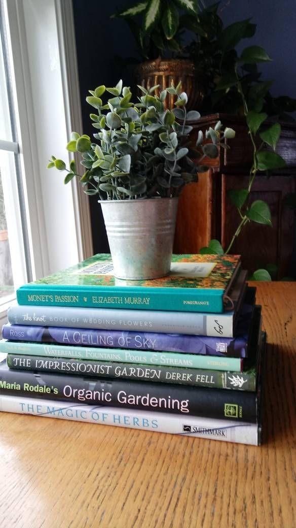 Garden Books How To Create Gardens Impressionistic Gardens Herb Garden Table Display Coffee Table B Rodales Organic Gardening Display Coffee Table Garden Table