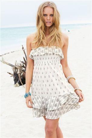 Paisley Print Pull On Dress from Next - matching dress 1