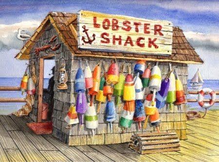 coastal art print  Barry Singer FISH Fanatic etsy shop