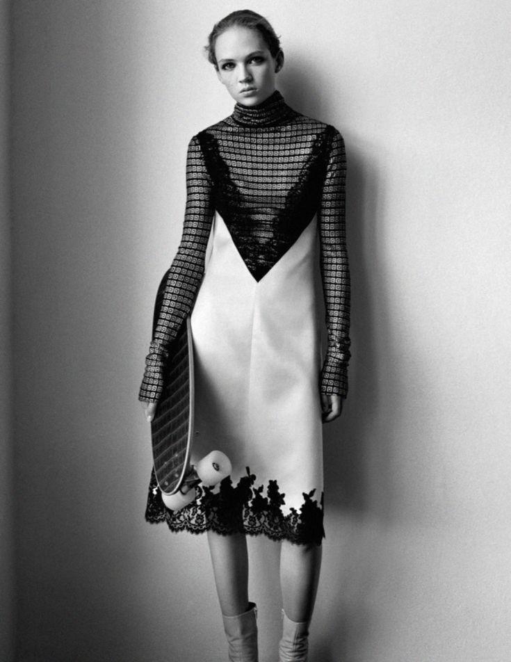 LAST NIGHT - Vogue Paris February 2016 Photographed by Alasdair...