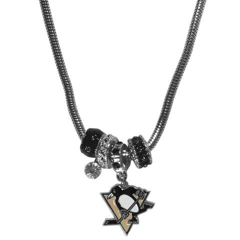 Pittsburgh Penguins® Euro Beaded Necklace