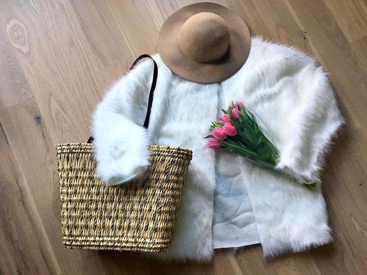 DIY faux fur jacket tutorial - lilmissboho