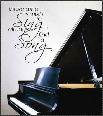 I always have a song to sing! | Cute Quotes | Pinterest ...