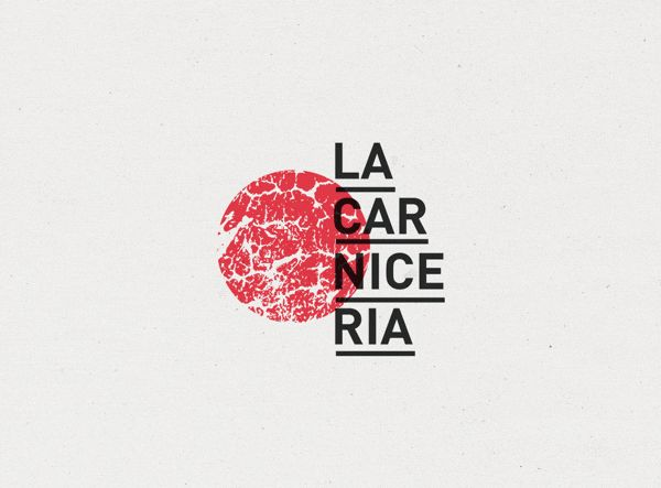 La Carnicería is a pop upgallerythat takes place in a butchers shop.This identity is based on the union ofthis two concepts.  Art + Meat.