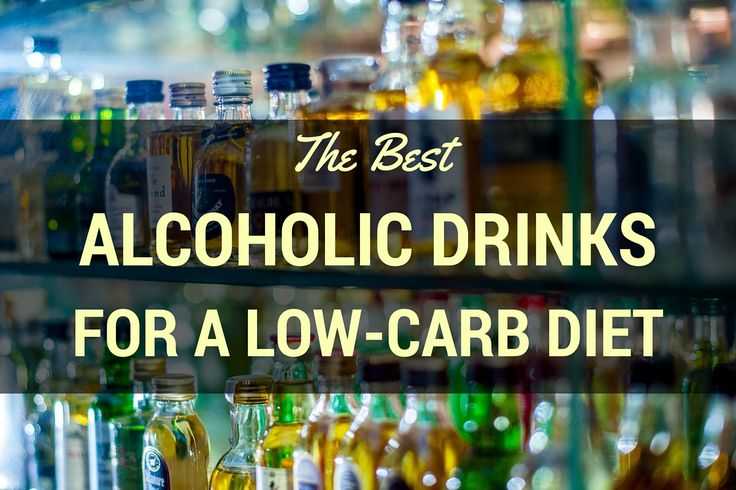 The Best Alcoholic Drinks on a Low-carb Diet